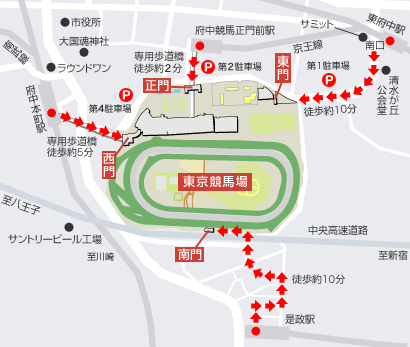 東京競馬場