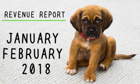 <REVENUE REPORT>2018年1・2月|ひかるぶろぐ