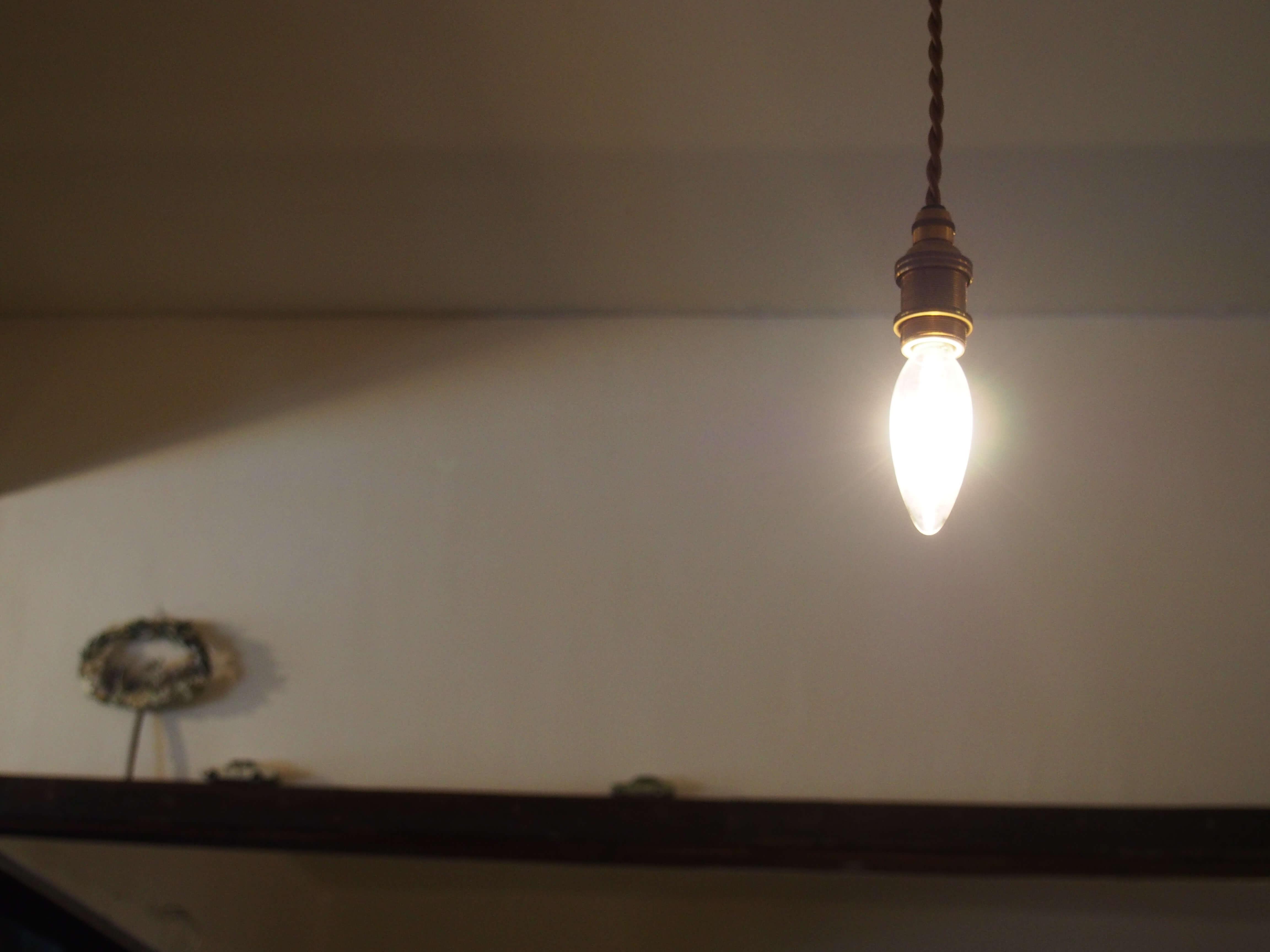 灯りがホッとする