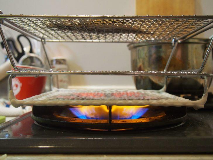 赤外線遠火という干物の焼き方はうまくなるか?3