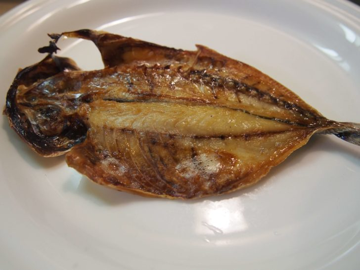 干物の焼き方:魚焼きグリル2