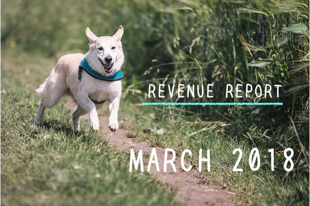 <REVENUE REPORT>2018年3月|ひかるぶろぐ
