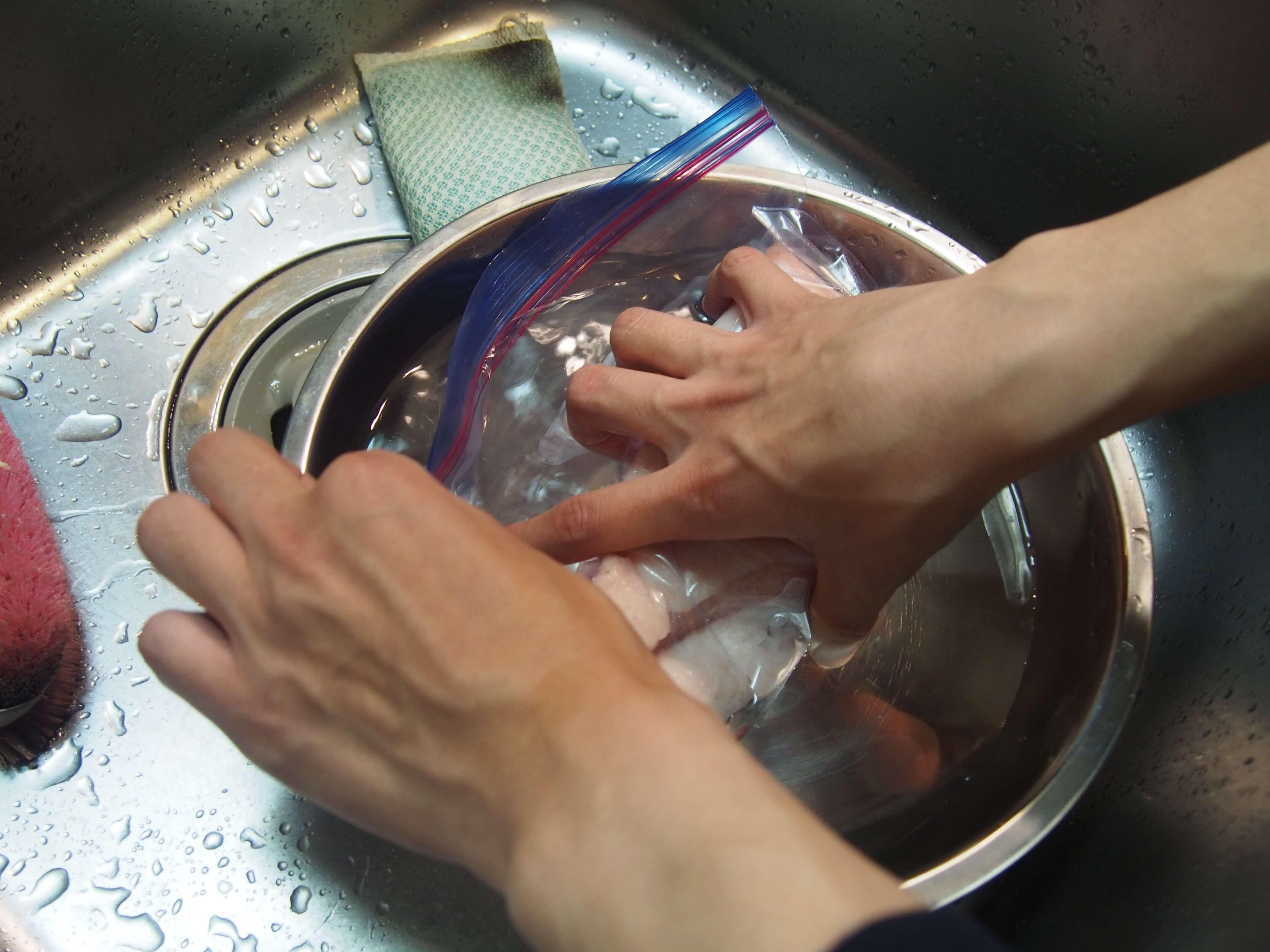 低温調理用の豚バラ12