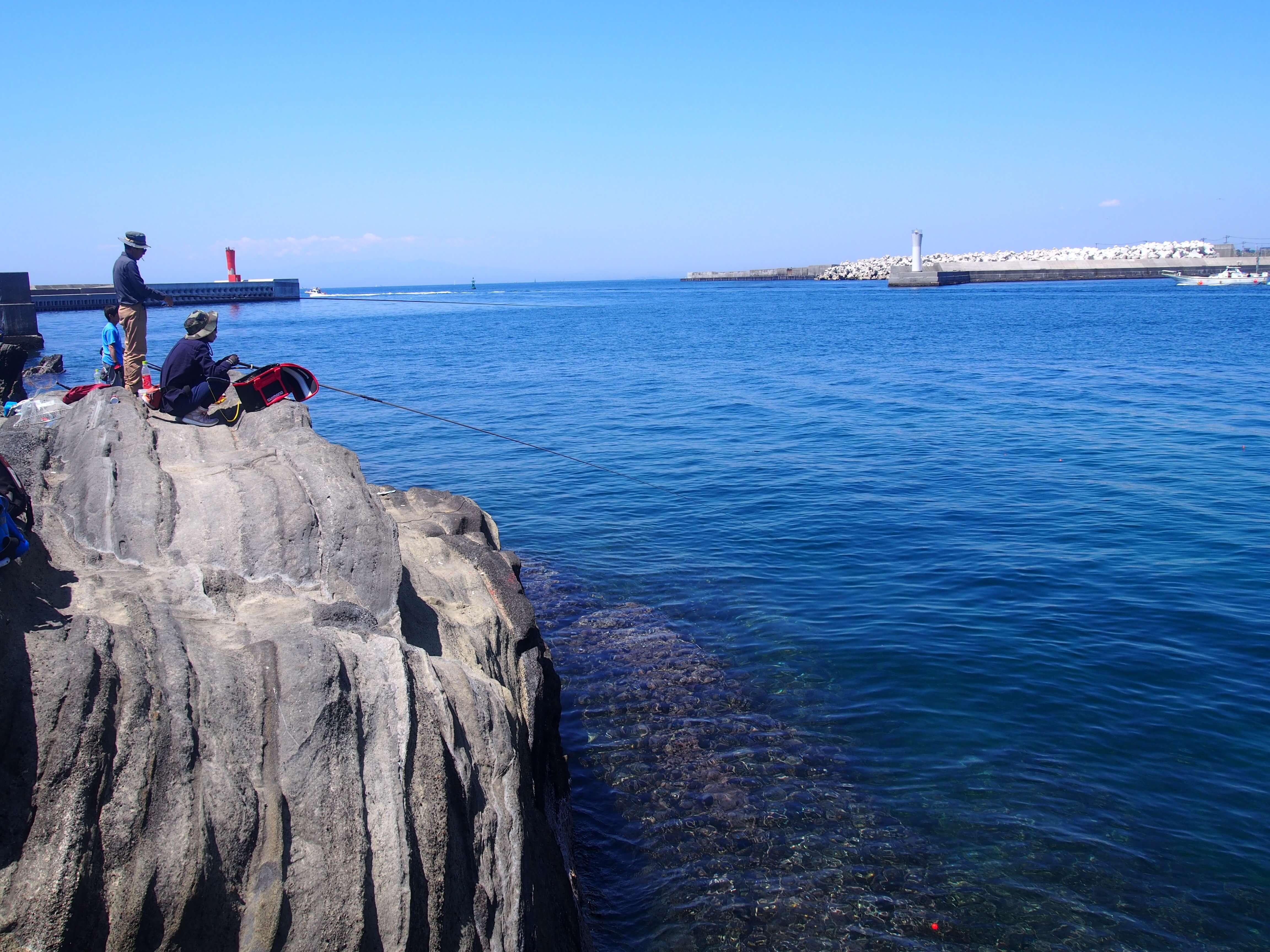 海藻に根掛かりしてしまう