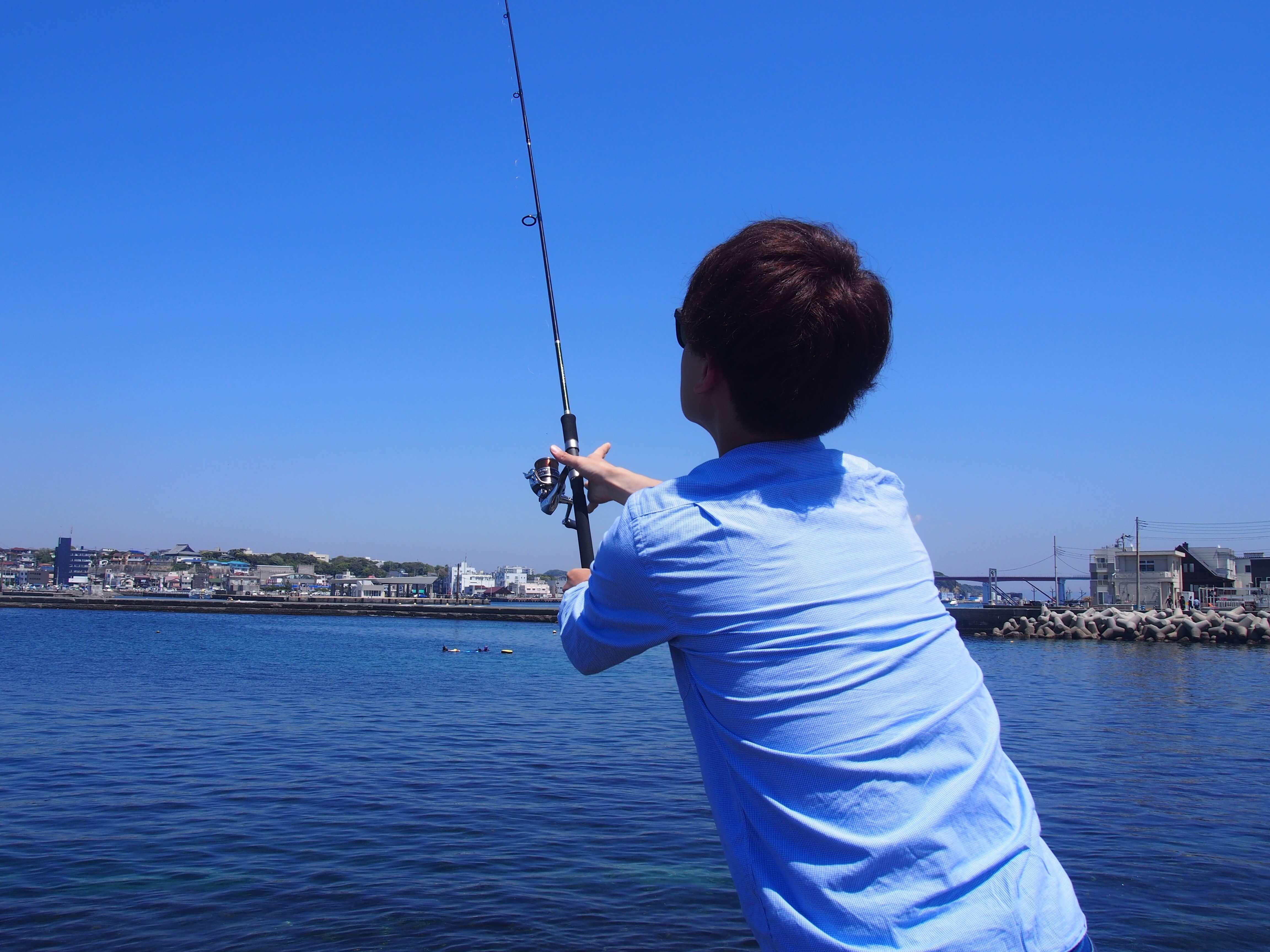 初釣り!2