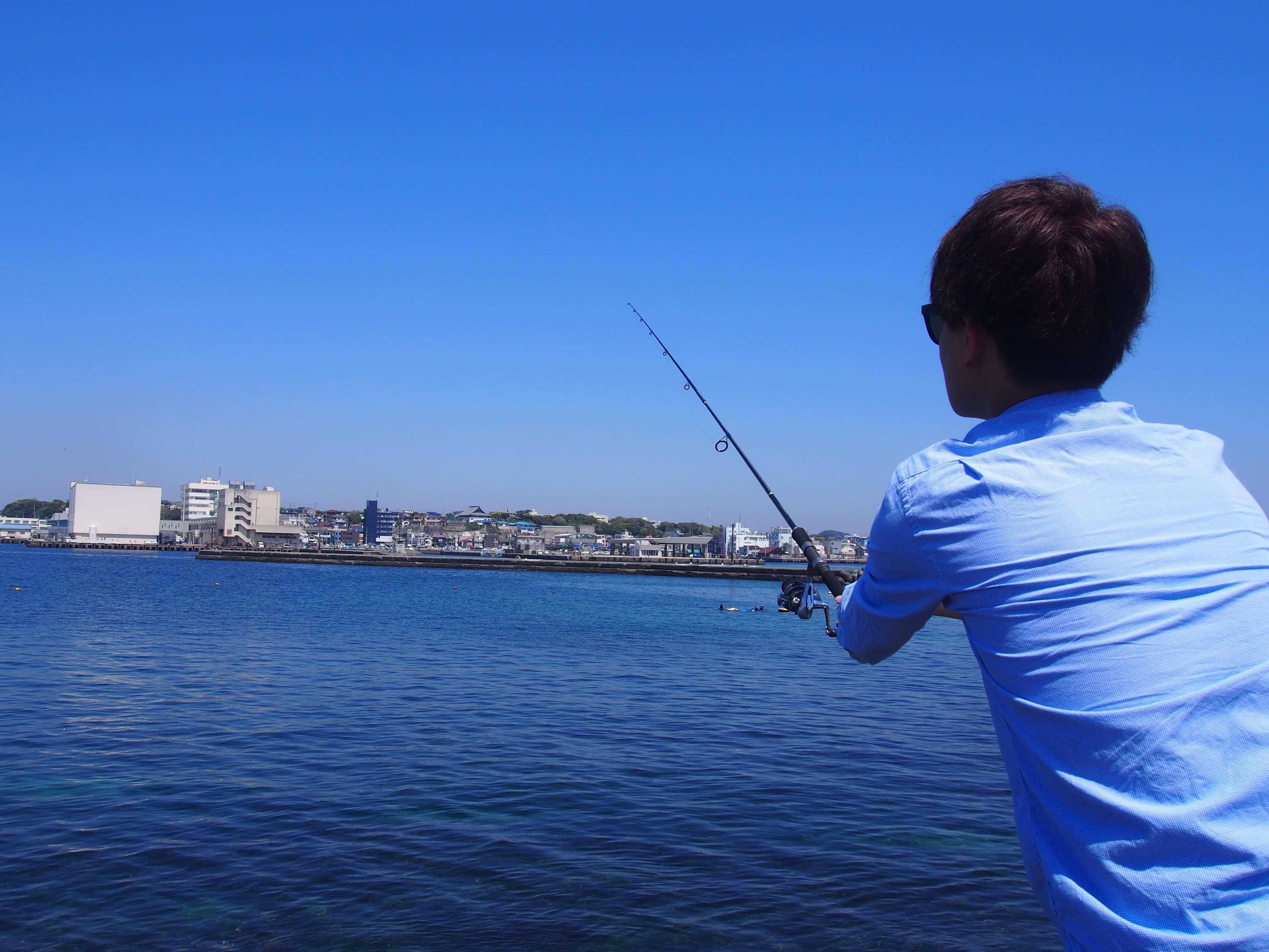 初釣り!4