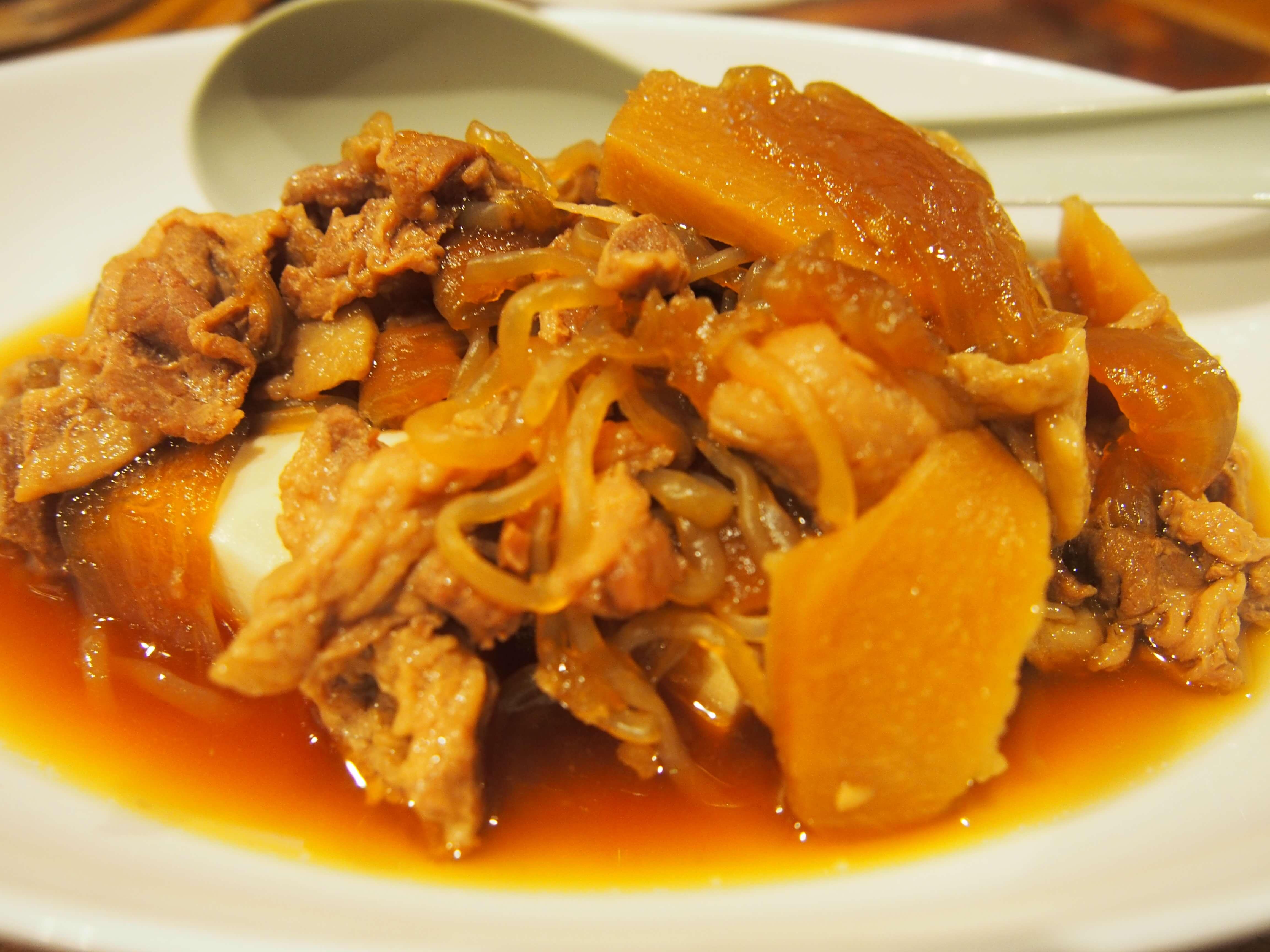 ホロホロの肉豆腐