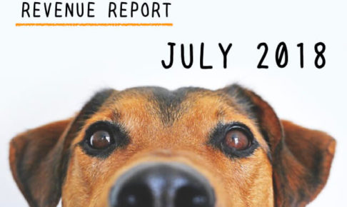 <REVENUE REPORT>2018年7月の収入報告|ひかるぶろぐ