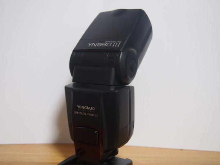 外部フラッシュストロボYongnuo「Speedlight YN560 III」