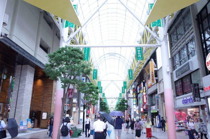 仙台市内の商店街