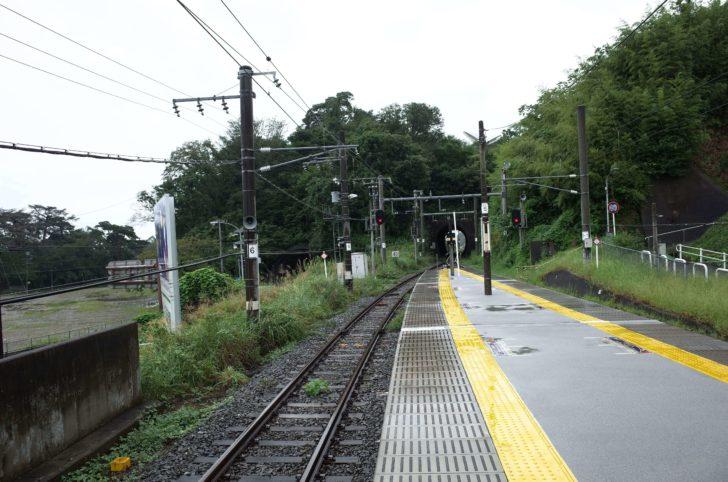松島海岸駅ホーム