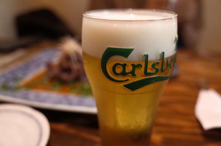 肉にはやっぱりビールだね