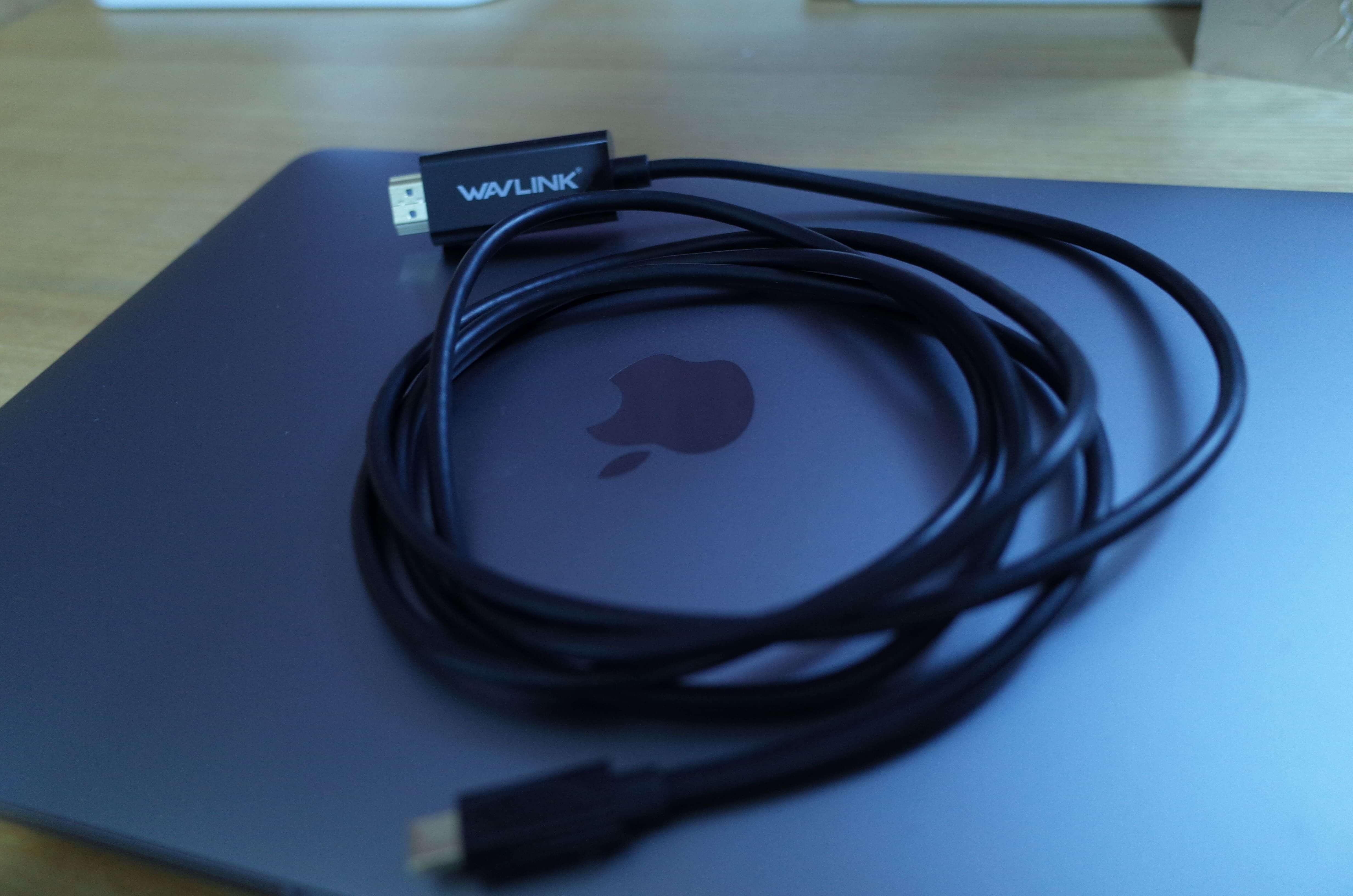 HDMI変換ケーブルでMacBook Proとテレビを接続すると作業が楽しくなった