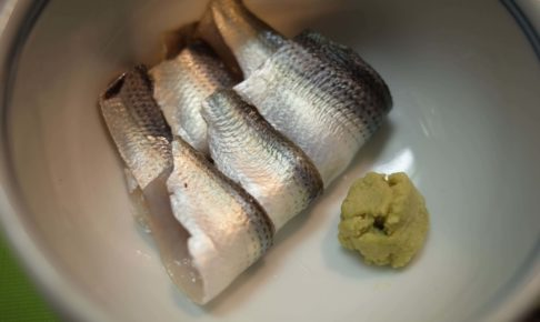 コハダの酢じめをつくる。魚を「酢じめ」にする意味もまとめました