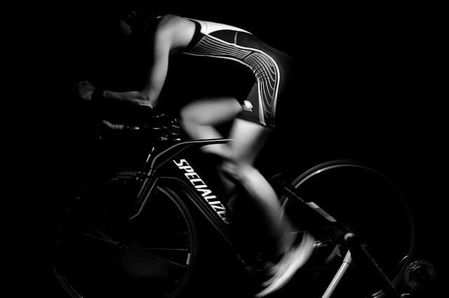 自転車での配達ならエクササイズができる