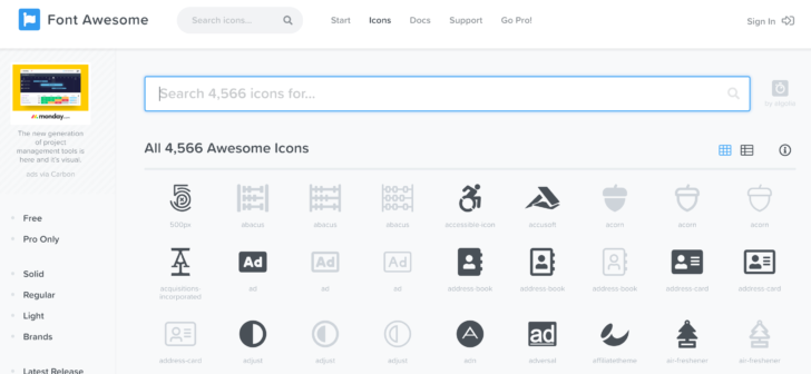 Font Awesomeはとても便利